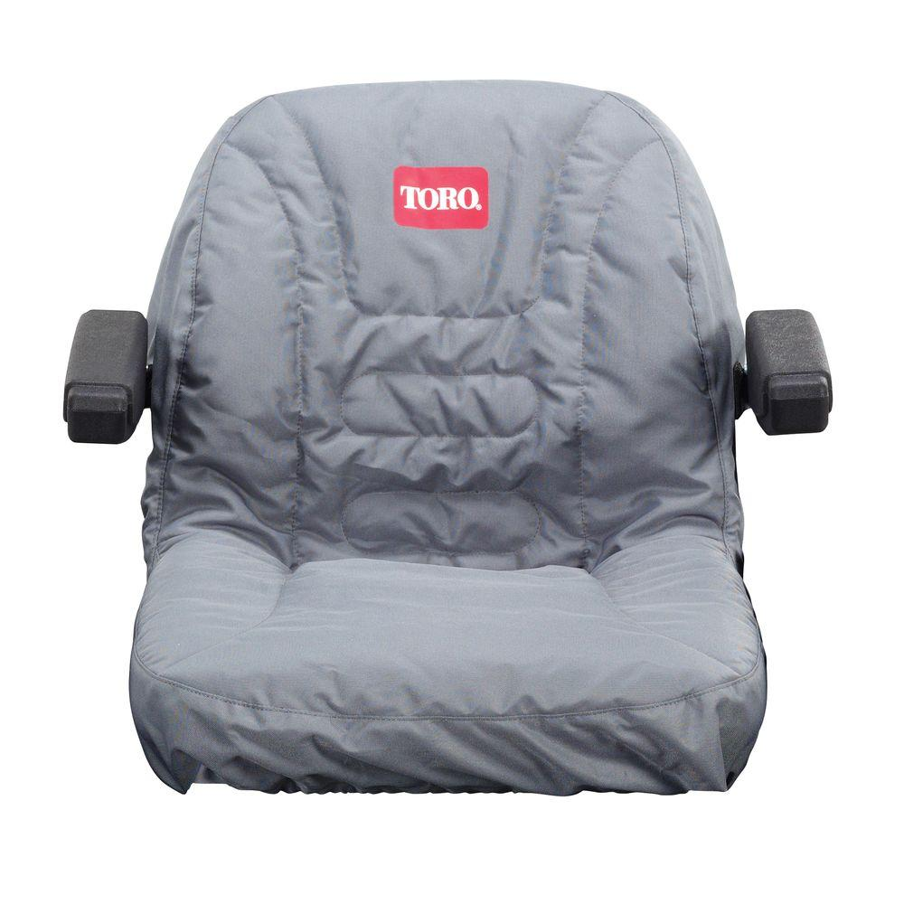 Toro 117-0097 18 Inch Seat Cover with Armrest