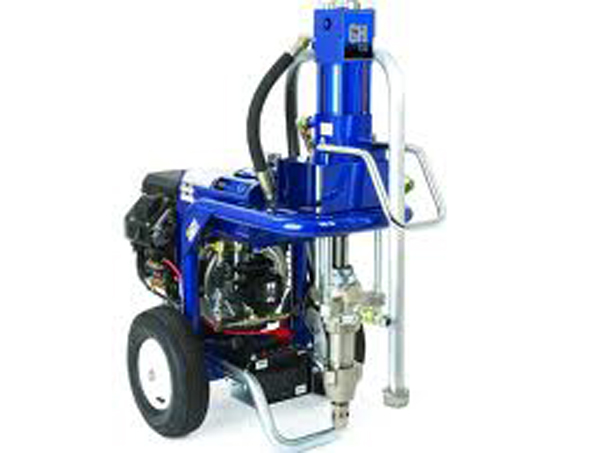 Gas-Hydraulic Airless Sprayers