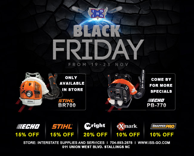 Interstate Supplies and Services Black Friday