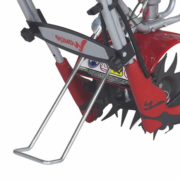 Mantis Tiller Engine Parts : Mantis  cycle tiller with kickstand