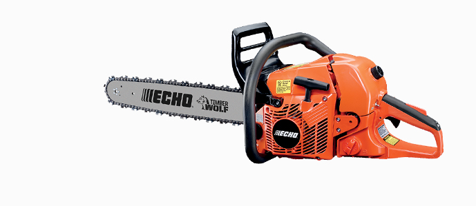 "Echo CS590-24 59.8cc engine, 24"" Performance Cutting bar"