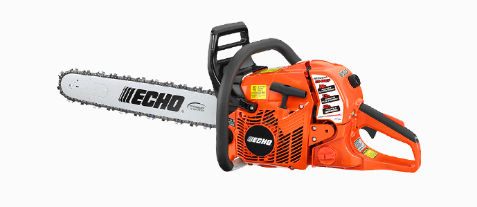 "Echo CS600P 59.8cc engine, 27"" bar"