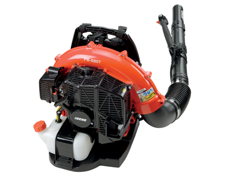 Echo PB-580T 58.2cc engine, 510 cfm 215 mph