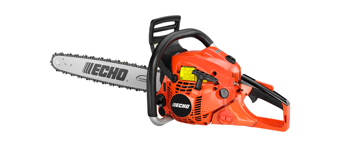 "Echo CS501P-18 50.2cc engine, 18"" bar"