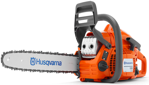 "135 14""; .050 ga. 40.9cc chainsaw"