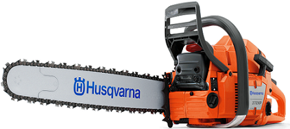 "372XPG 20""; .058 ga. 70.7cc heated handle chainsaw"