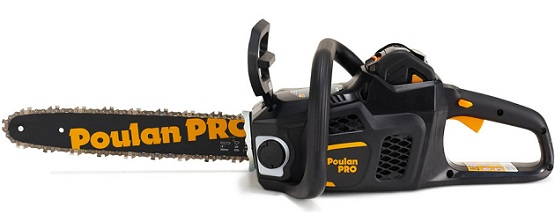 "PPB4014 Poulan Pro 40V chainsaw 14""; 3/8 pitch with batt./cger"