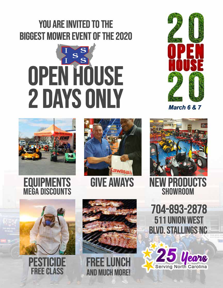 Open House March 6th and March 7th 2020
