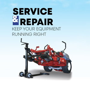 Lawn Mower repair at Interstate Supplies and Services