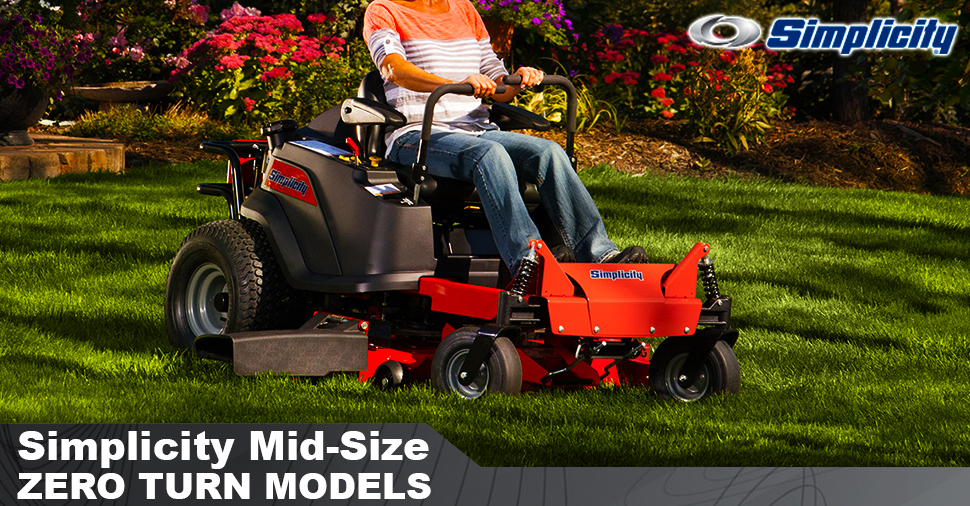 Mid-Sized Zero-Turn Models : Lawn Mowers Parts and Service